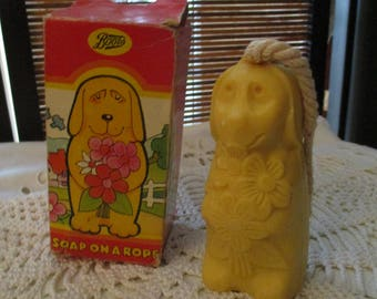 Avon Dog Soap on a Rope (1970s)
