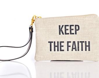 Keep the Faith Clutch