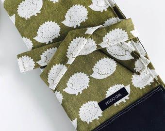 Kendo Iaido Naginata Sword bag / Kimono fabric / Martial arts sword bag / Japanese textiles / Traditional Japanese culture / Shinai Bag