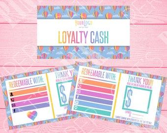 Loyalty Cash | Hot Air Balloons | Customize
