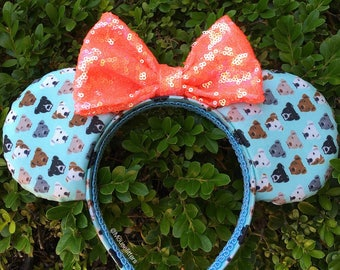 Pit Bull Mouse Ears