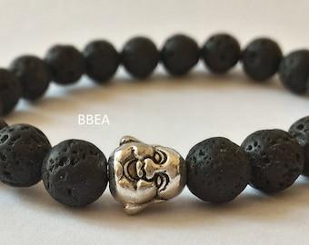 Stone wash, cleaning of karma stone beads 8 mm and bracelet Perle Buddha
