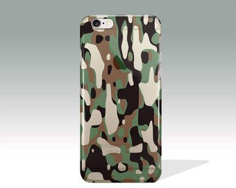 Gift For Men iPhone 7 Plus Case Camo iPhone 7 Plus Case Silicone iPhone 7 Plus Case Protective iPhone 6 Case Clear Father's Day Gift  //145