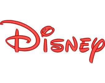 SALE** Disney Embroidery Font 4 Sizes Machine BX Embroidery Fonts Alphabets Embroidery Designs PES - Instant Download