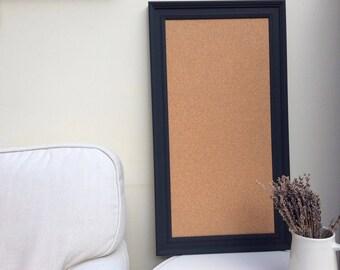 large cork board large bulletin board large pin board cork notice board framed pin board