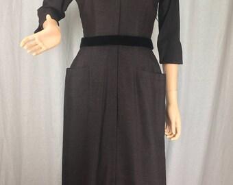 Stunning 1950s Tobie of New York Dress