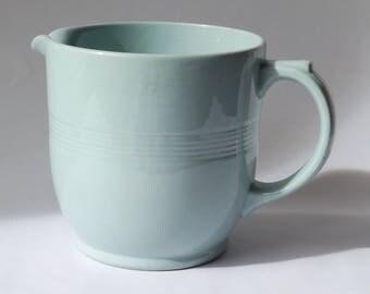 Woods Iris large milk jug Utility ware 1940s/1950s
