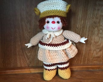 Ginger Cookie Doll Pattern