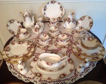 Royal Albert celebrations tea and part dinner set 42 piece