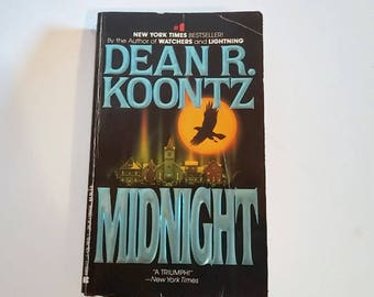 Midnight by Dean Koontz  Paperback Horror
