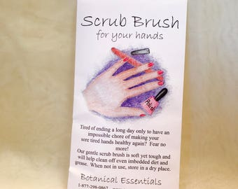 Scrub Brush for your Hands