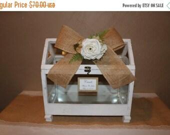 ON SALE Wedding Card Box / Wedding Greenhouse Box / Greenhouse Card Box