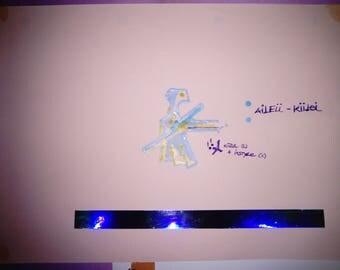 A: AILEII-KIILEI Fashion Plate