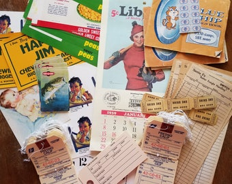 Vintage ephemera lot #1