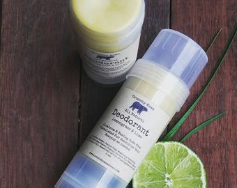 All Natural Deodorant-Aluminum and Baking Soda FREE-Sensitive Skin Formula