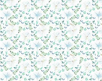 Cotton fabric - scandinavian pattern in endalions, oeko-tex