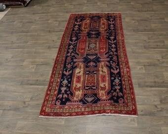 Delight Rare Size Semi Antique Meshkin Persian Rug Oriental Area Carpet 5X10