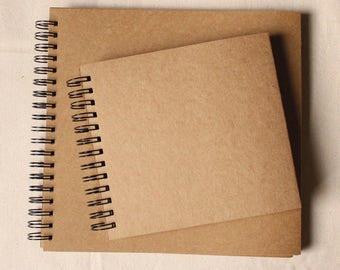 Photo Album, Kraft Photo Album, blank Album, Wedding Guest Book, scrapbook, Wedding Album, Baby photo Album, Personalised book, kraft paper