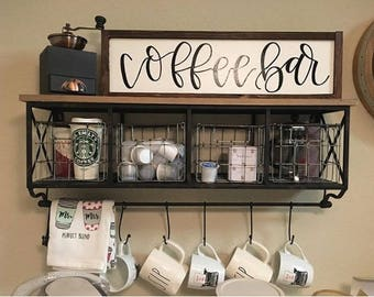 Coffee Bar Etsy
