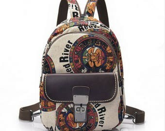 Women Canvas Casual Daypacks