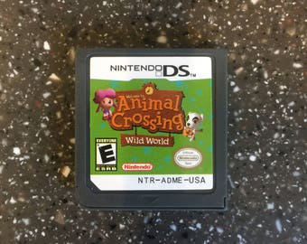 Animal Crossing Wild World Nintendo DS Lite 3DS Video Game