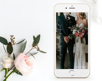 Snapchat Filter, Wedding Snapchat Filter, Snapchat Geofilter, Custom Snapchat Filter, Gold Foil, Wedding Geofilter, Custom Geofilter