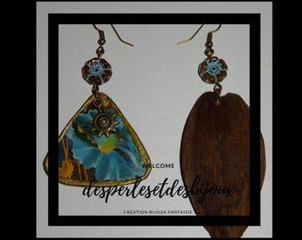 Style BOHO coconut earrings