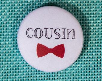 Wedding Cousin badge