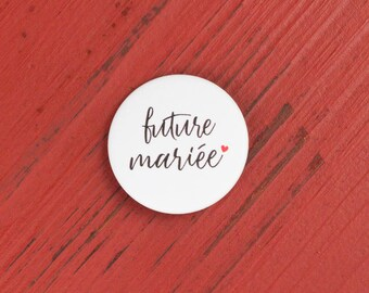 Wedding bride badge