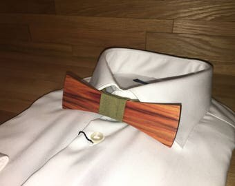 Bow tie - Rose wood