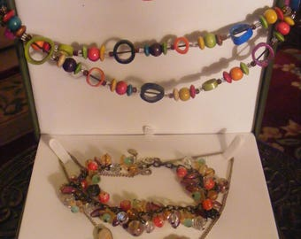 Two Necklaces & One Bracelet