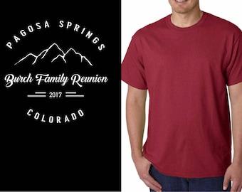 Burch Family Reunion Shirts