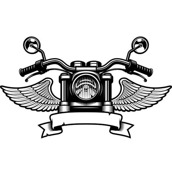 Motorcycle mechanic logo