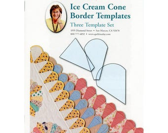 Quilt in a Day Ice Cream Cone Border Templates