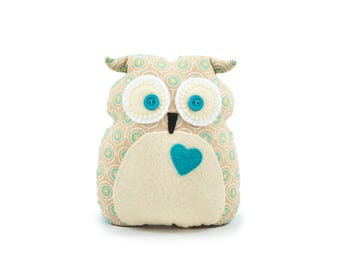 Owl Cushion Victor