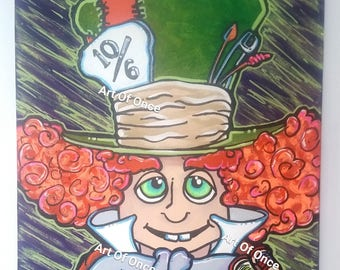 Mad Hatter, Original Painting