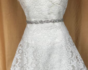 A line Wedding Gown