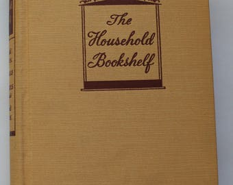 Vintage 1936 The Household Bookshelf Cookbook