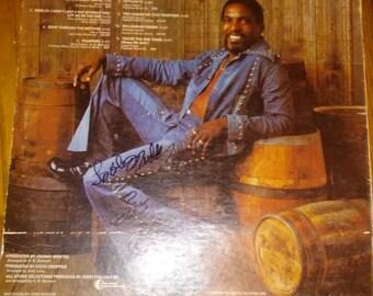 Am Wilson La La peace song AUTOGTAPHED RECORD SLEEVE no record