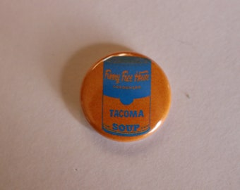 Funny Face House buttons - SOUP Can Tacoma