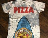 Pizza Jaws - 1/1 - Men's (unisex) Tee - XL
