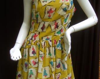 Fun Flirty Women Print Summer Dress by Marilyn Monroe Co