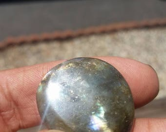 Tumbled Labradorite Palm Stone