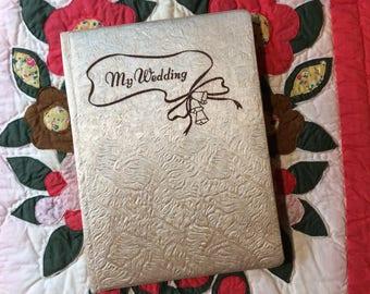 Vintage Wedding Album / unused