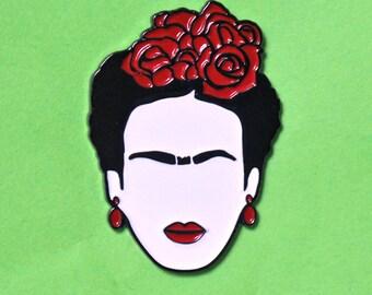 Frida Kahlo Cejas enamel pin