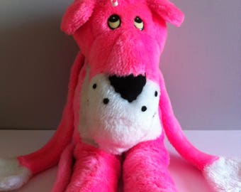 1980's Pink Panther soft toy, large 58 cm tall.