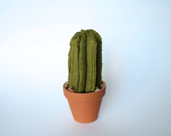 Potted Faux Cactus