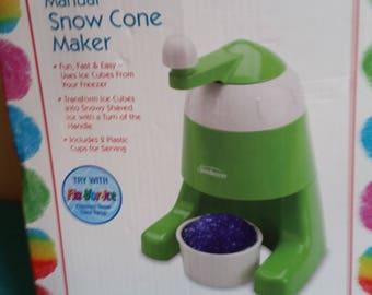 Sunbeam Manual Snow Cone Maker