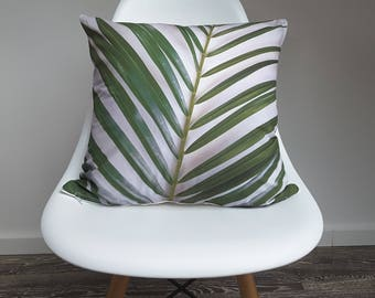 "Cushion cover ""Palm Leaf"""
