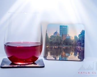 Boston photography coasters